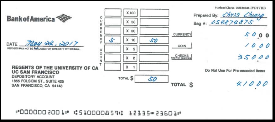 Handling Cash, Checks, & Incoming EFT   Controller's Office on